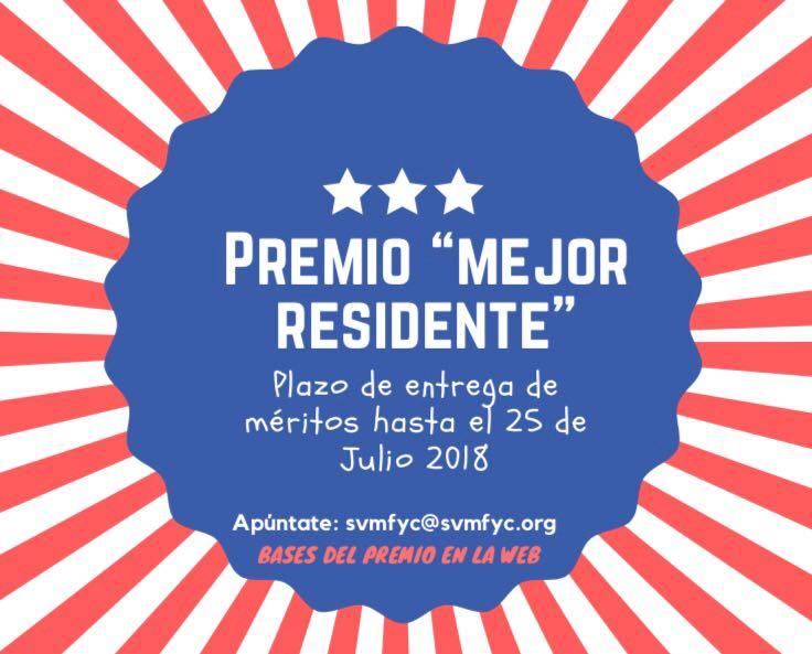 10ª edición Premio Mejor Residente